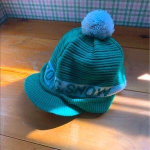 Vintage billabong beanie hat mint